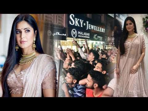 Katrina Kaif At Kalyan Jewellers Showroom Launch In Indore