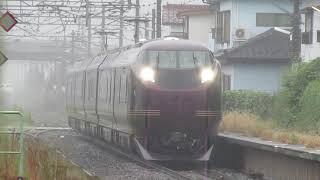【e655系和】貴重映像!上野~盛岡団体臨時!大河原駅を低速通過
