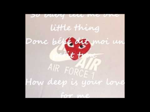 Dru Hill - How Deep Is Your Love Lyrics Paroles