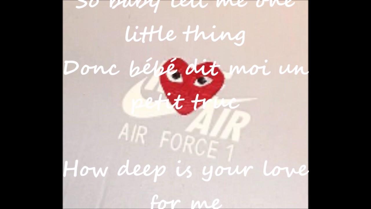 Lyrics Center Lyrics How Deep Is Your Love Dru Hill