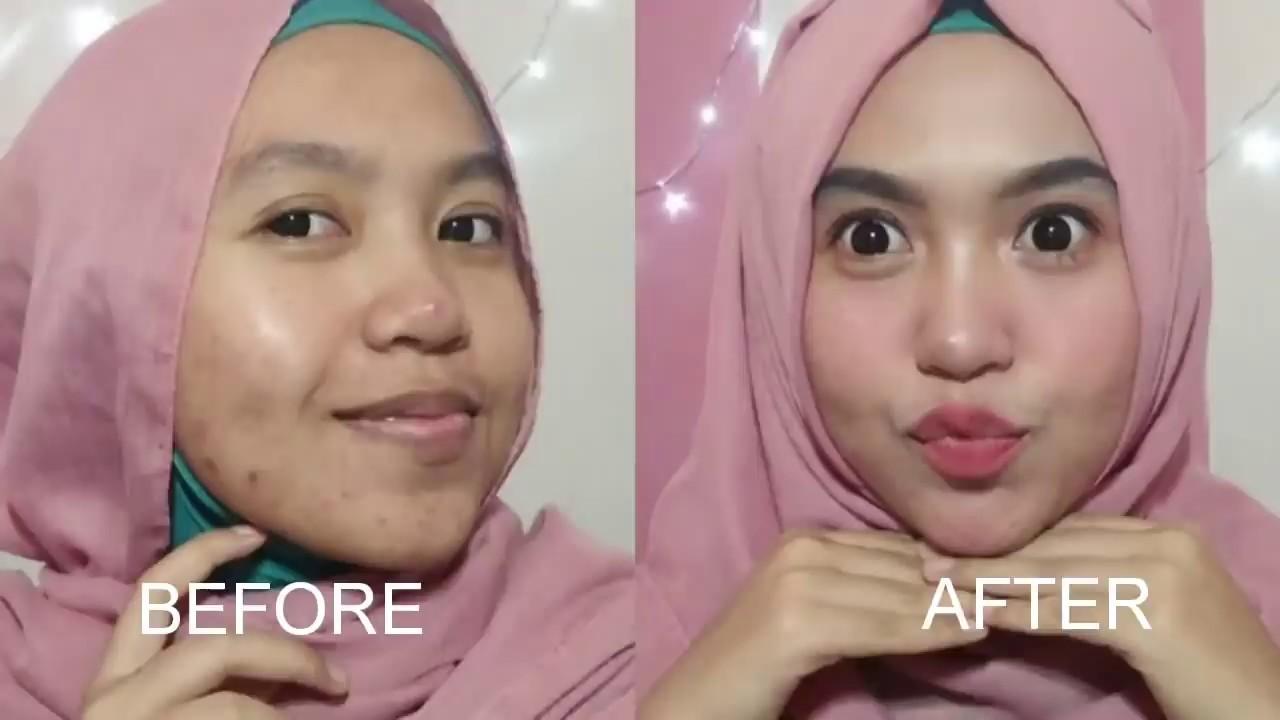 Tutorial Makeup Sehari Hari Untuk Wajah Berjerawat Parah