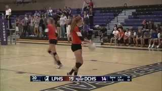 DCC vs LP girls volleyball full broadcast