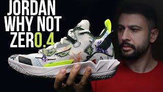 Тест кроссовок Jordan Why Not Zer0 4 Первые впечатления