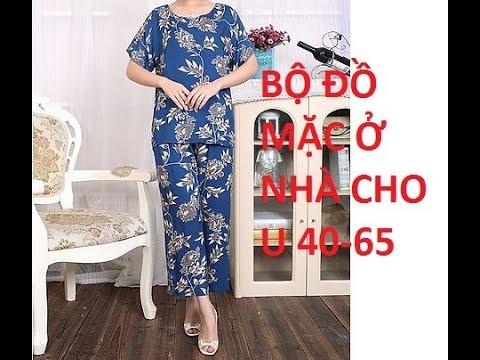 Thiết kế trên vải | đồ bộ | mặc nhà | cho người già | B54 | – Phương Đàowww