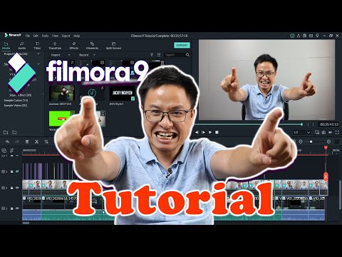 Filmora9 Tutorial For Beginners - Best Video Editor For YouTubers