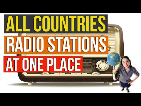 How to Listen to Global RADIO STATIONS |  RADIO GARDEN LIVE