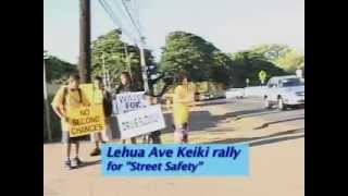 """Pathways to Paradise"" Street Safety with The Honolulu Police & US Navy"