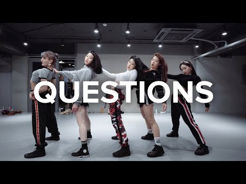Questions  Chris Brown  Jin Lee Choreography