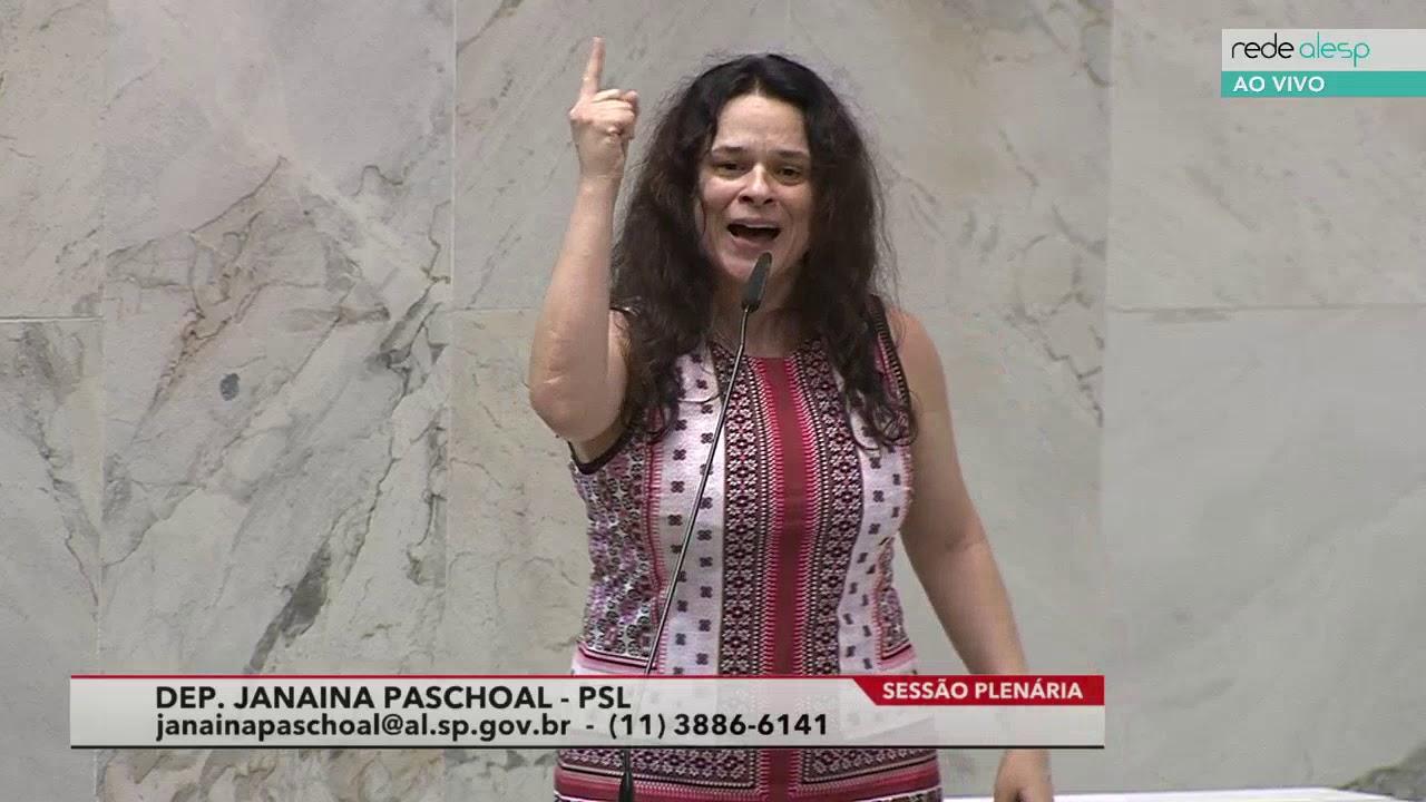 Janaina Paschoal Deputada Estadual Psl 17 09 2019