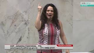 Janaina Paschoal, Deputada Estadual - Psl - 17/09/2019