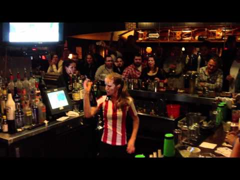 TGI Fridays Bar Competition Jessica Myers 1st Place