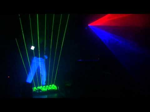 airman - Jungfernflug 2010 - Jean Michel Jarre - Oxygene 8 - Played Live with Laser Harp