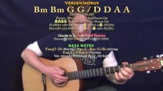 despacito luis fonsi guitar lesson chord chart bm g d a