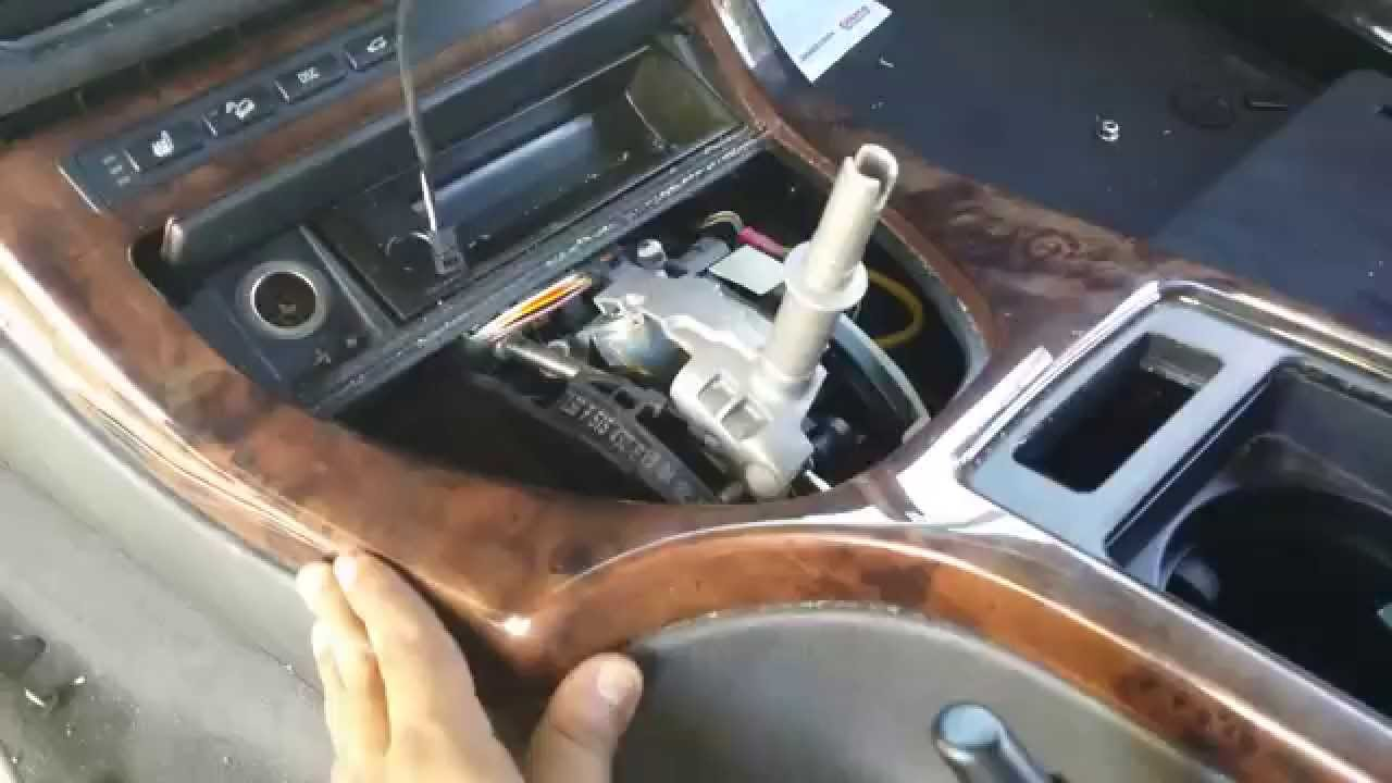 Bmw E53 X5 Dash Center Console Shifter Removal Part 1 Youtube