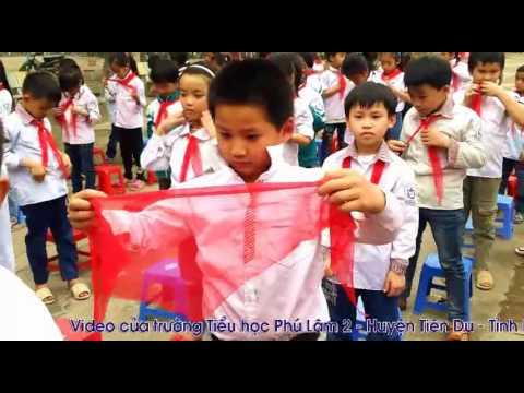 Lễ Kết nạp Đội Trường TH Phú Lâm 2 Tiên Du Bắc Ninh