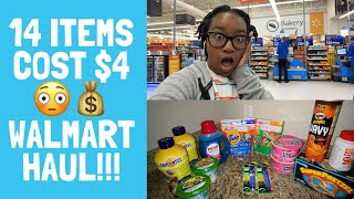 Walmart Grocery Haul |$4 for 14 Items! Couponing at Walmart|Krys the Maximizer