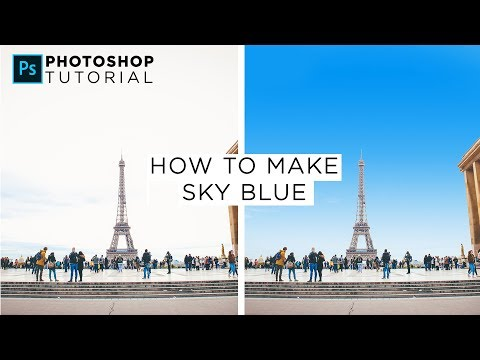 Learn How To Replace A White Sky With A Blue Sky Using Photoshop CC