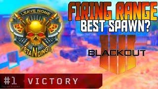 🔥Firing Range Best Blackout Spawn? Blackout BR Solo Win Gameplay!