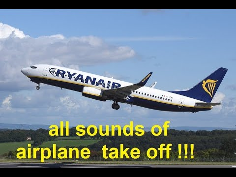 airplane take off  Sound Effects All Sounds
