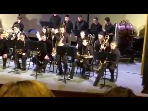 UNH Jazz Band Spring 2017 Comcert