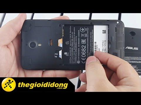 Hướng dẫn tháo lắp Sim và Thẻ nhớ Asus Zenfone C | www.thegioididong.com
