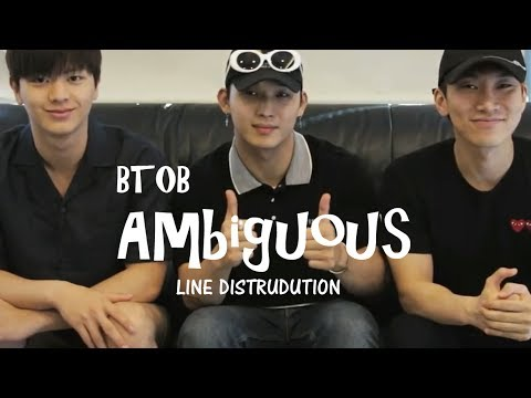 BTOB - AMBIGUOUS Fight For My Way OST Line Distribution