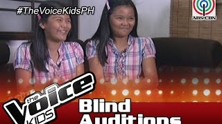 The Voice Kids Philippines 2016 Blind Auditions: Meet Ezra and Elisha from Laguna