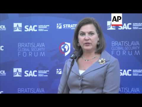 Nuland claims Russia feeling the effects of sanctions following annexation of Crimea