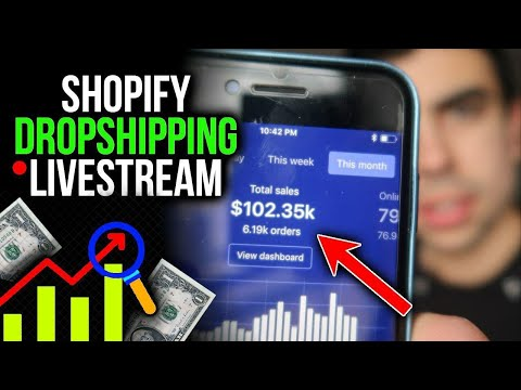 Late Night Golden Nugget Session - Shopify Dropshipping