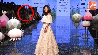 Indian Cricketer Mithali Raj First Ramp Walk at Lakme Fashion Week Summer 2020
