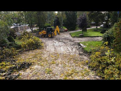Житомир.info   Новости Житомира: У Житомирі почали реконструкцію Нового Бульвару: знімають покриття, на території працюють археологи