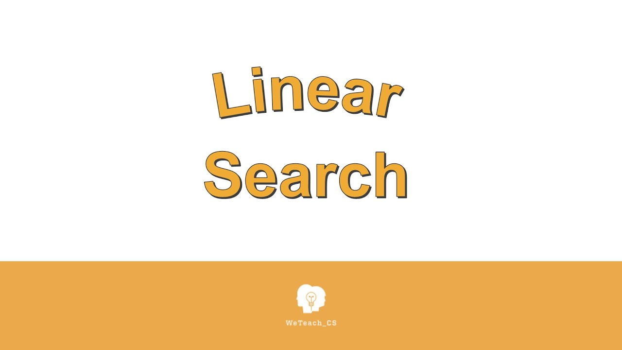 Linear Search Pseudocode and Analysis
