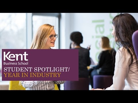 Kent Business School Student Spotlight: Year in Industry