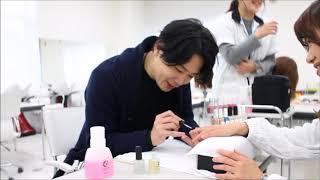 須佐先生ネイルをするの巻 新潟 美容学校 BM thumbnail
