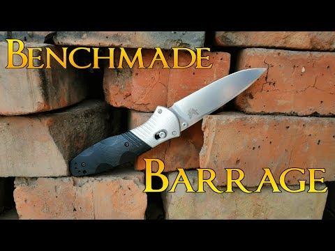 Нужны ли дорогие ножи, Benchmade Barrage обзор и тесты.