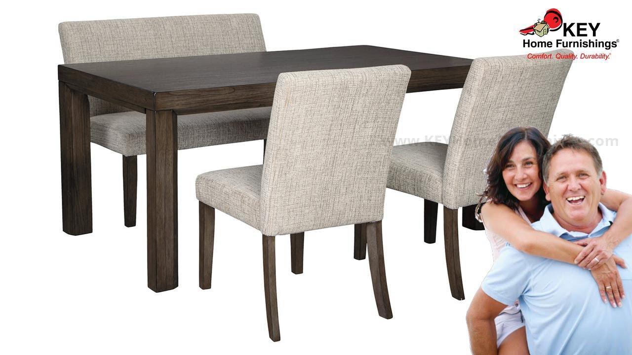 Ashley Deylin 4 Piece Dining Room Apg D437 253 Key Home Youtube
