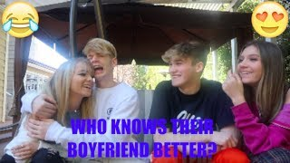 WHO KNOWS THEIR BOYFRIEND BETTER? (Zoe Laverne VS Mads Lewis) WHO WINS?