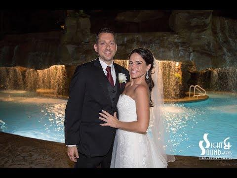 mirage-las-vegas-|-pool-waterfall-wedding-reception