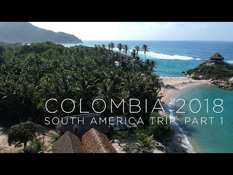 Colombia 2018   South America Trip   3 weeks backpacking   GoPro