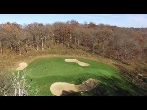 Drone Golf Amana Colonies