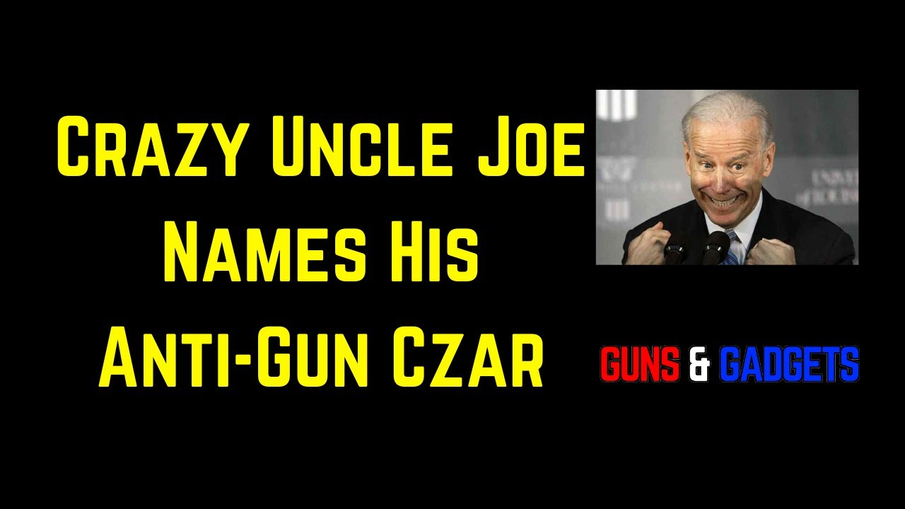 Biden Names His Anti-Gun Czar & Deuces To Mini-Mike