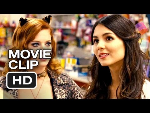 Fun Size Movie CLIP - Convenience Store (2012) - Victoria Justice, Jane Levy Movie HD