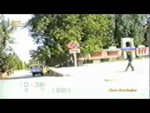 ŞUŞA ŞƏHƏRİ 1991- QARABAĞ-