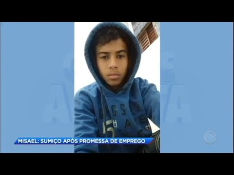 Jovem desaparecido pode ter sido levado para outro estado