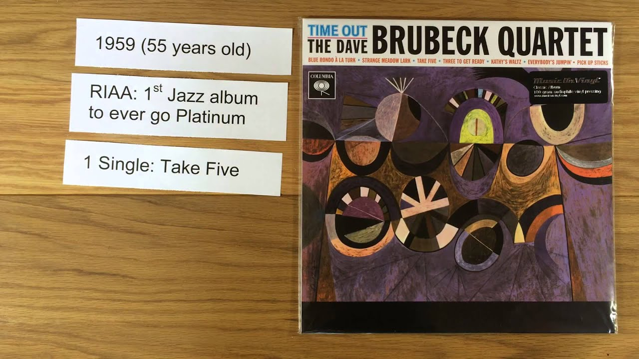 Dave Brubeck Quartet Time Out 5 Vinyl Facts Youtube