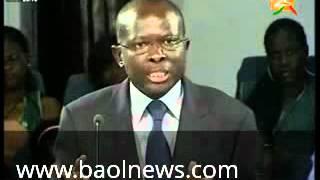 notre tounkara national qui ne mche pas ses mots crache sur les politiciens