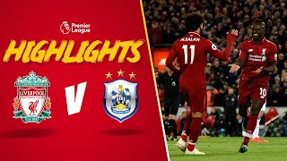 Salah and Mane doubles sink Terriers | Liverpool 5-0 Huddersfield | Highlights