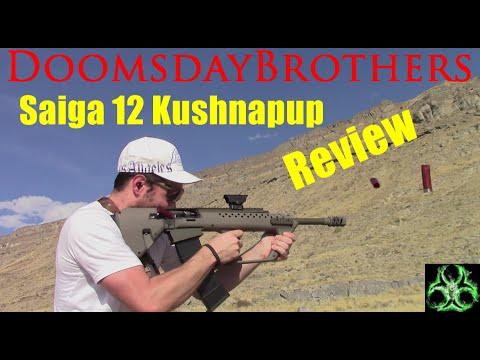 The Supreme Semi-Auto Tactical Shotgun - Saiga-12 Kushnapup Review
