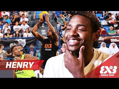 "Myke ""Buckets"" Henry - FIBA 3x3 World Tour"