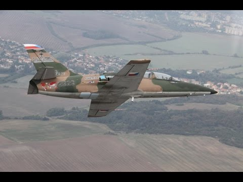 Aero L-39NG Next Generation single engine two seat jet military trainer aircraf Czech Republic Omnip